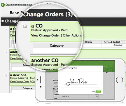 CHANGE ORDER elements design build