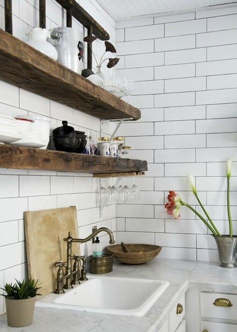 KITCHEN SHELVES 5 ELEMENTS DESIGN BUILD