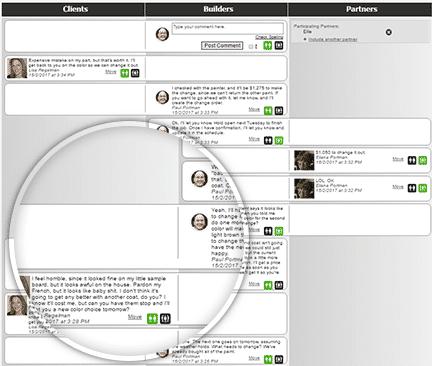 ommunication portal - elements design build