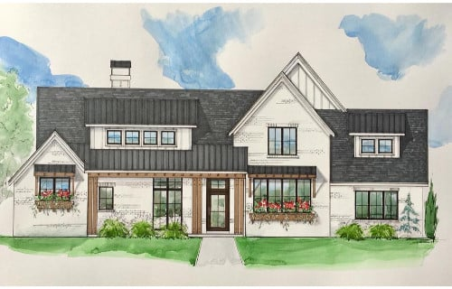 Autumn Ridge Elevations - Elements Design Build Greenville SC