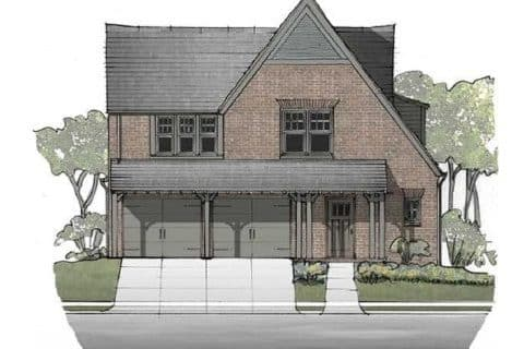 Norfolk Elevation - Elements Design Build Greenville SC