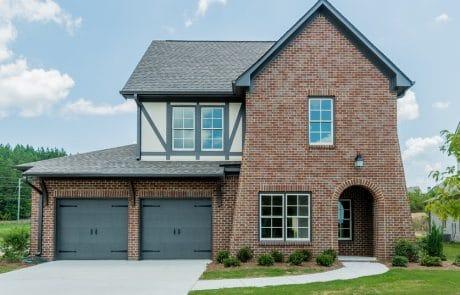 Beckanham English Cottage Elevation - Elements Design Build Greenville SC (3)