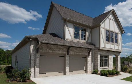 Beckanham Opt 2 English Cottage Elevations - Elements Design Build Greenville SC (2)