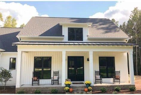 Belleview Elevation - Elements Design Build Greenville SC