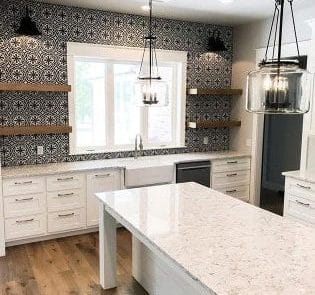 Belleview Farm house Kitchen - Elements Design Build Greenville SC