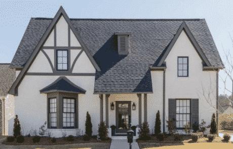 Brampton Storybook Cottage Elevation - Elements Design Build Greenville SC (2)