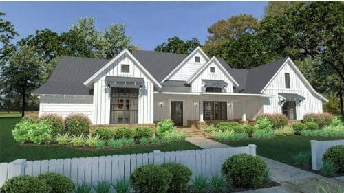 Brook Elevation - Elements Design Build Greenville SC