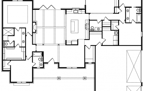 Brook Ranch House Plan - Elements Design Build Greemville SC