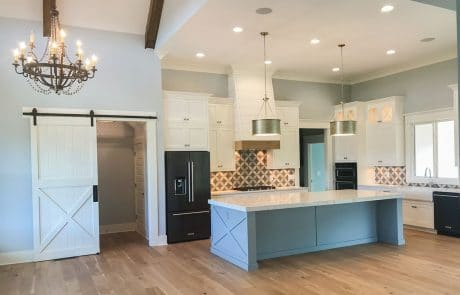 Brook Ranch House Plan Kitchen - Elements Design Build Greenville SC