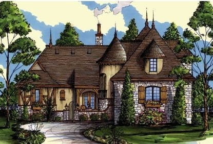Buckinghamshire elevations - Elements Design Build Greenville SC