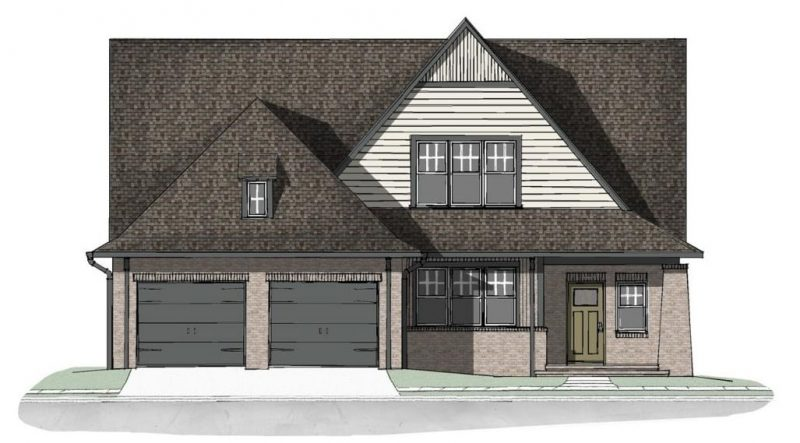 Common Ground farm home plans Elevation - Elements Design Build Greenville SC