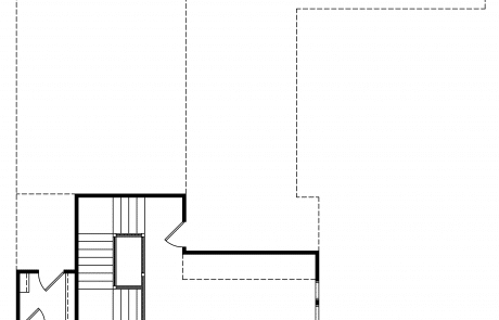 Cotswold Storybook Bungalow 2nd Floor Plan - Elements Design Build Greenville SC