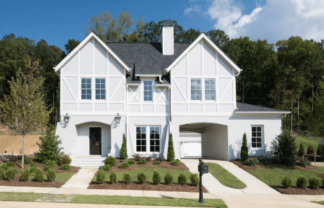 Dorset classic tudor home elevations - Elements Design Build Greenville SC (2)