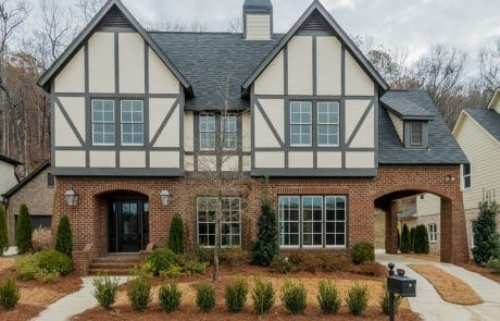 Dorset classic tudor home elevations - Elements Design Build Greenville SC (3)