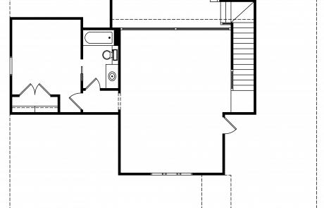 Essex Modern Storybook Home 2nd Floor Plan - Elements Design Build Greenville Sc