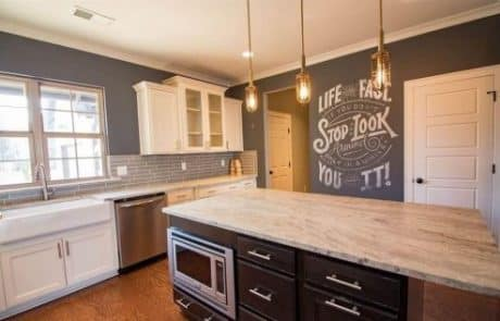 Essex Modern Storybook Home Kitchen - Elements Design Build Greenville SC (2)
