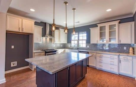 Essex Modern Storybook Home Kitchen - Elements Design Build Greenville SC (3)