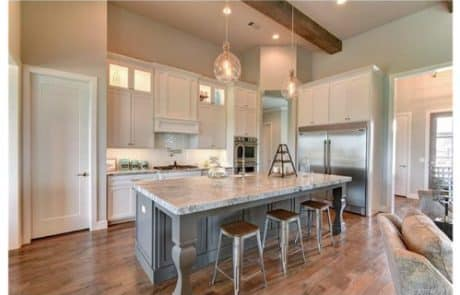 Glory Creek Modern Farm House Plans Kitchen - Elements Design Build Greenville SC 2