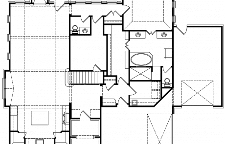 Hampshire English Storybook 1st Floor Plan - Elements Design Build Greenville SC (2)