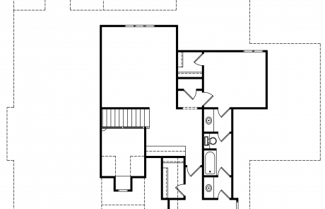 Hampshire English Storybook 2nd Floor Plan - Elements Design Build Greenville SC (3)
