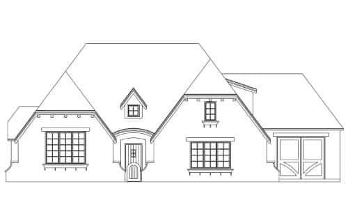 Hampshire Elevation - Elements Design Build Greenville SC