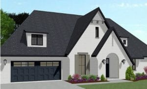 Hampton Elevation - Elements Design Build Greenville SC