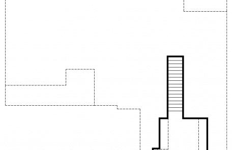 Hiddenbrook Cottage Farmhouse 2nd floor plan - Elements Design Build Greenville SC
