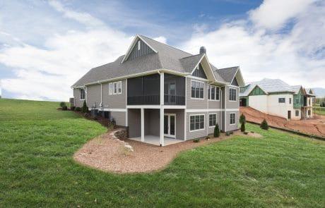 Hiddenbrook Cottage Farmhouse Elevation - Elements Design Build Greenville SC