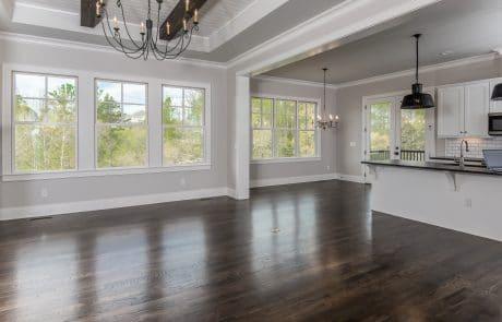 Hiddenbrook Cottage Farmhouse Living Room - Elements Design Build Greenville SC (1)