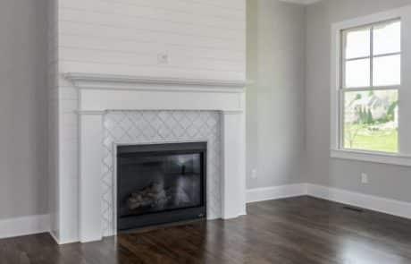 Hiddenbrook Cottage Farmhouse Living Room - Elements Design Build Greenville SC (3)