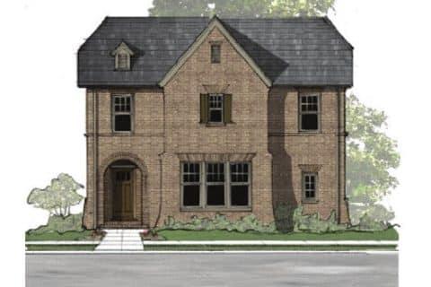 Prestbury Elevation - Elements Design Build Greenville SC