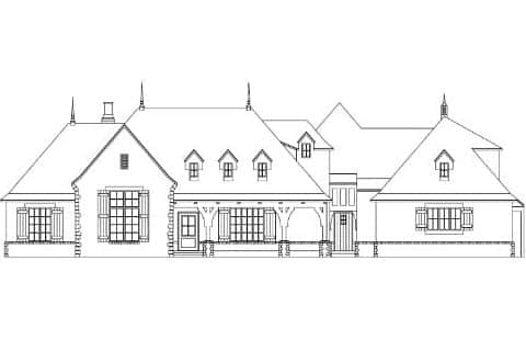 Sleepy Hollow Elevation - Elements Design Build Greenville SC