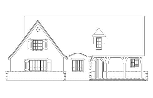 Suffolk Elevation - Elements Design Build Greenville SC