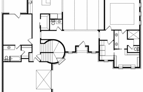 Sussex Castle Tower 1st Floor Plan - Elements Design Build Greenville SC (1)