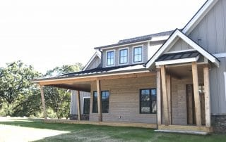 Wildberry Modern Ranch Farmhouse levations - Elements Design Build Greenville SC 3