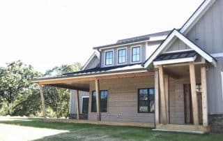 Wildberry Modern Ranch Farmhouse levations - Elements Design Build Greenville SC 3