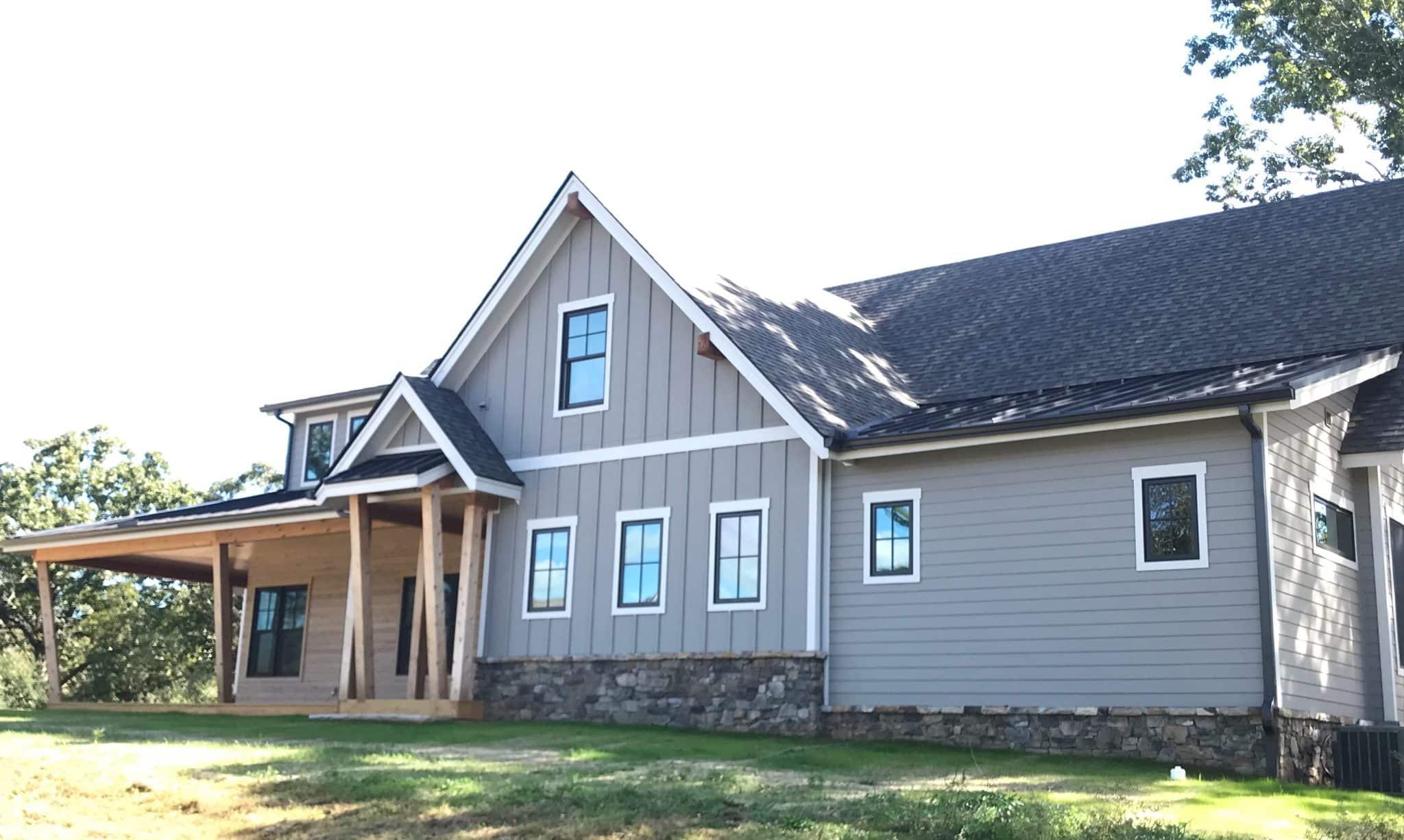 WILDBERRY MODERN RANCH FARMHOUSE HOUSE PLANS