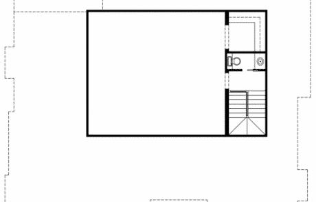 Worcester Tudor Revival 3rd Floor Plan - Elements Design Build Greenville SC