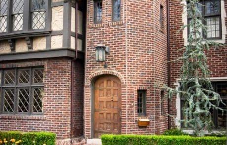 Worcester Tudor Revival Elevation - Elements Design Build Greenville SC 6