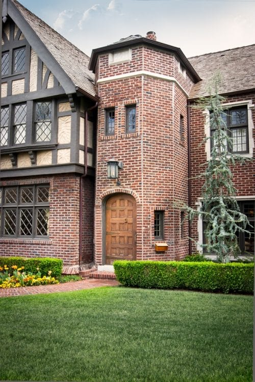 Worcester Tudor Revival House Plans Elements Design Build