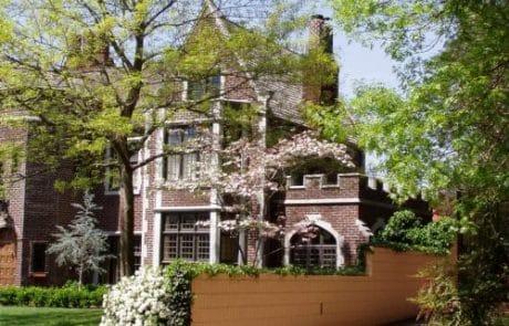 Worcester Tudor Revival Elevation - Elements Design Build Greenville SC 7