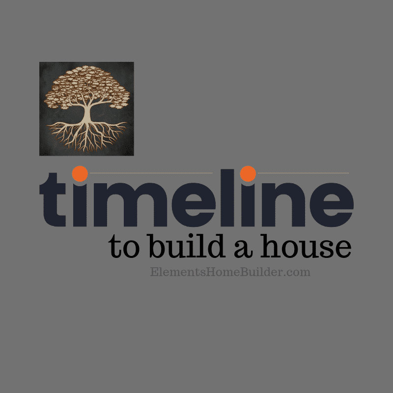 "Photo of Elements Logo on ""Timeline to Build a House,"" an article by Elements Design Build, a Custom Home Builder Greenville SC"
