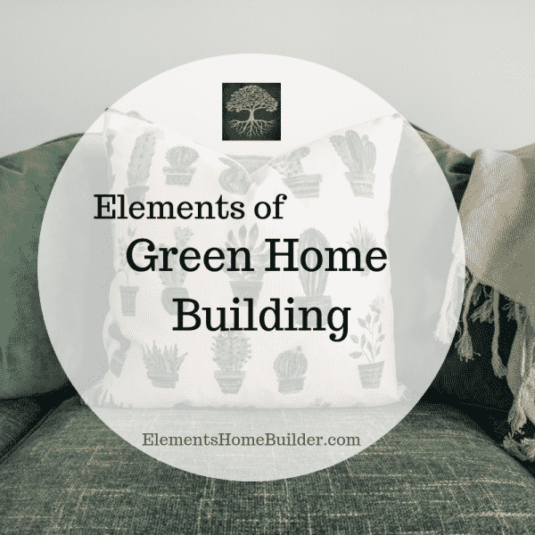 "Photo of three throw pillows on a sofa on ""Elements of Green Home Building,"" an Article by Elements, Greenville SC Custom Home Builder"