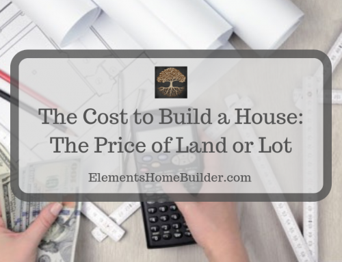 The Cost to Build a House: The Price of Land or Lot