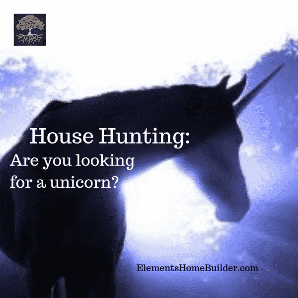 Photo of a unicorn on House Hunting: Are you looking for a unicorn? - An article by Elements Design Build, Greenville SC Custom Home Builder