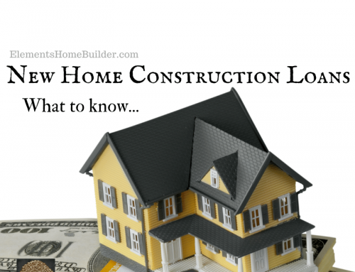 New Home Construction Loans: What to know…